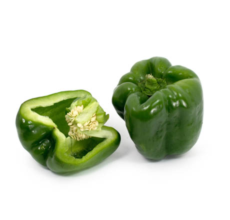 Local Organic Green Bell Peppers