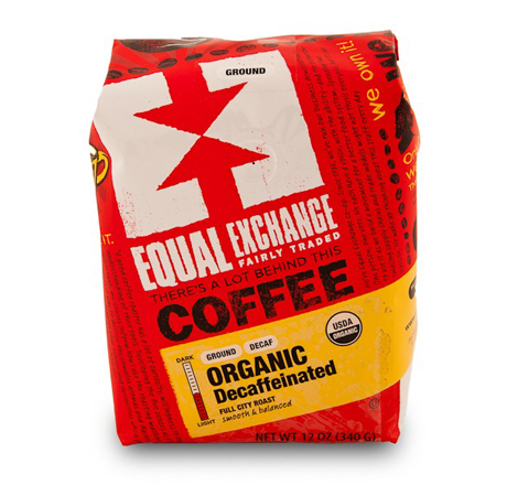 Equal Exchange Full City Decaffeinated, Drip Grind
