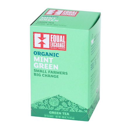 Equal Exchange Mint Green Tea