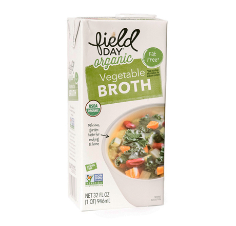 Field Day Organic Vegetable Broth - Low Sodium