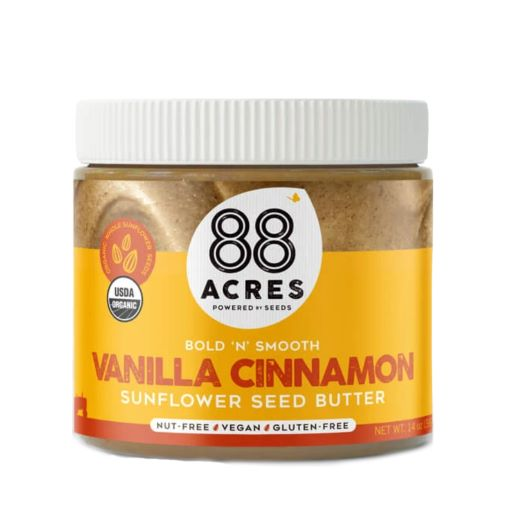 88 Acres Foods Organic Vanilla Spice Sunflower Seed Butter