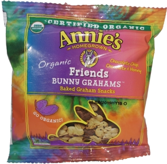 Annie's Bunny Graham Friends Snacks