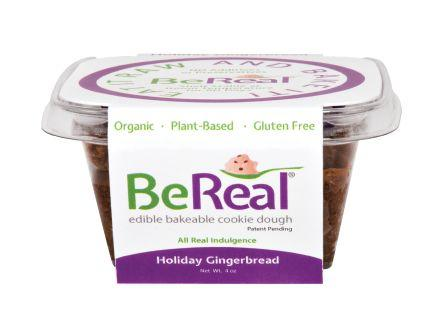 BeReal Cookie Dough Holiday Gingerbread, 4 oz