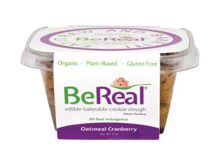 BeReal Cookie Dough Oatmeal Cranberry, 4 oz