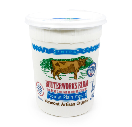 Butterworks Farm Organic Yogurt - Nonfat Plain