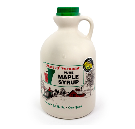 Dwight Miller and Son Maple Syrup Grade B