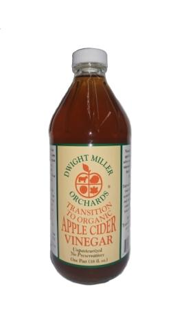Dwight Miller and Son Apple Cider Vinegar, Transitional