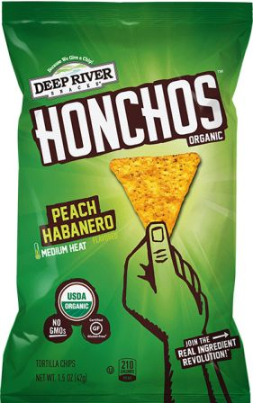 Deep River Snacks Peach Habanero Tortilla Chips