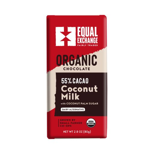 Equal Exchange Organic Chocolate Bar with Coconut Milk