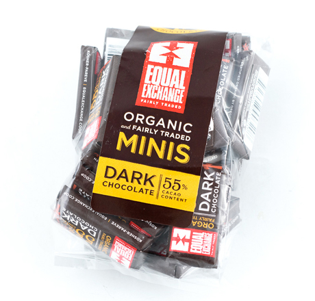 Equal Exchange Organic Dark Chocolate Minis 25-pack