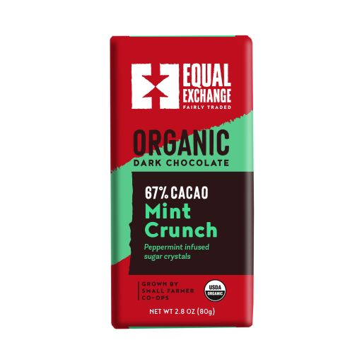 Equal Exchange Organic Mint Dark Chocolate