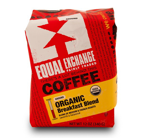 Equal Exchange Breakfast Blend Coffee, Drip Grind