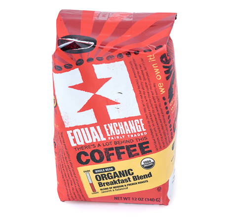 Equal Exchange Breakfast Blend Coffee, Whole Bean