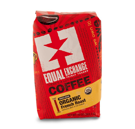 Equal Exchange French Roast Coffee, Whole Bean