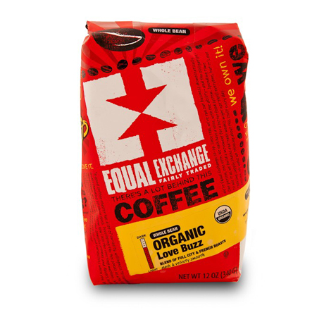 Equal Exchange Love Buzz Coffee, Whole Bean