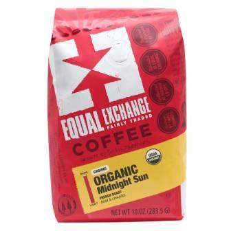 Equal Exchange Organic Midnight Sun Coffee, Drip Grind