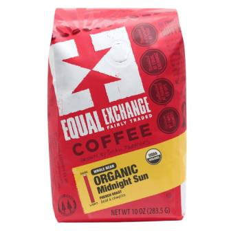 Equal Exchange Organic Midnight Sun Coffee, Whole Bean