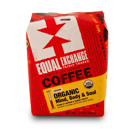 Equal Exchange Mind, Body and Soul Coffee, Drip Grind