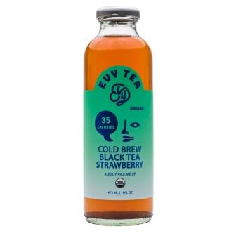 Evy Tea Cold Brew Black Tea Strawberry
