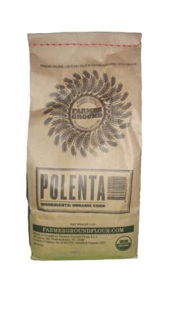 Farmer Ground Flour Polenta