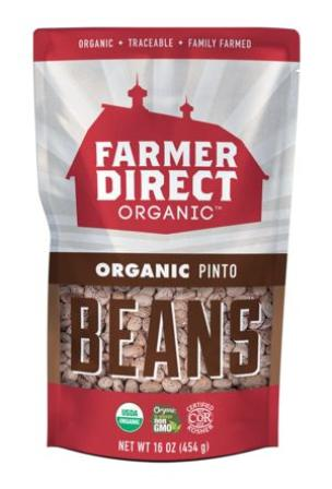 Farmer Direct Organic Dried Pinto Beans