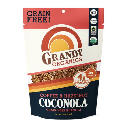 GrandyOats Coffee Crunch Coconola