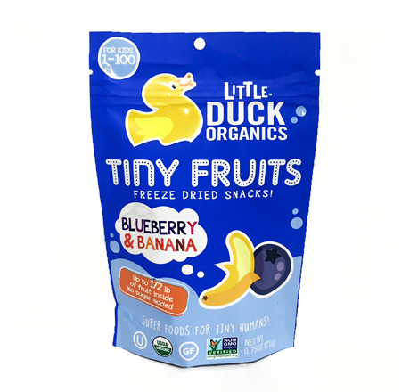 Little Duck Blueberry Banana Fruit Snacks