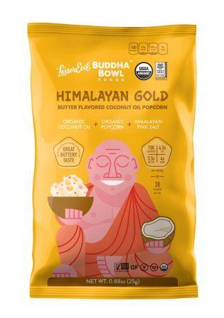Lesser Evil Organic Snacking Popcorn - Himalayan Gold