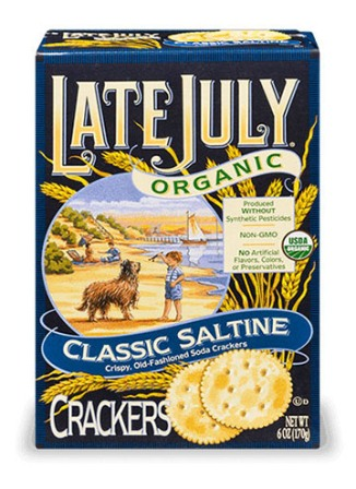 Late July Classic Organic Saltine Crackers
