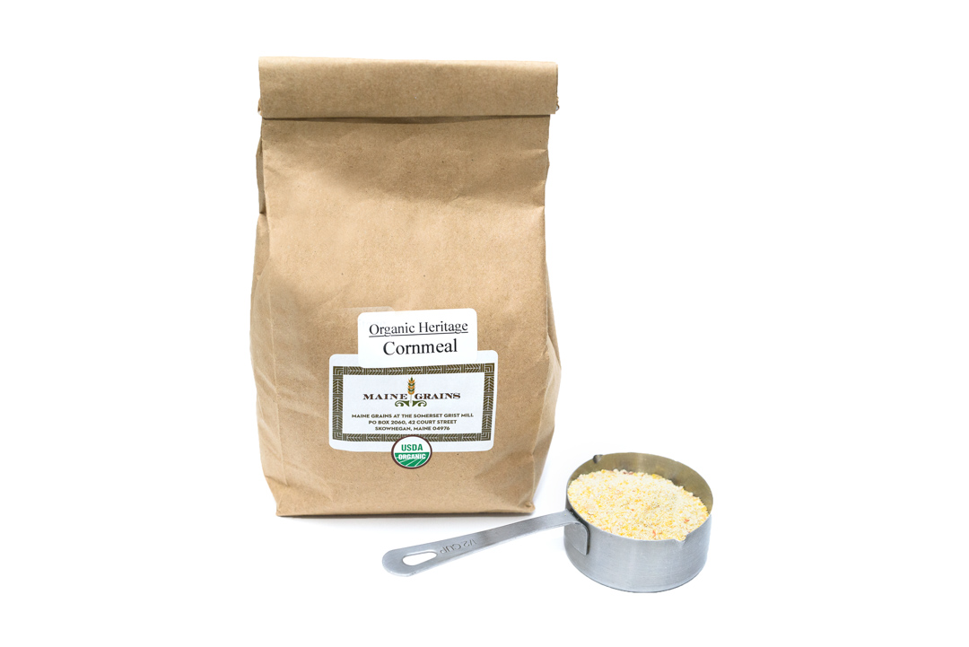 Maine Grains Organic Cornmeal