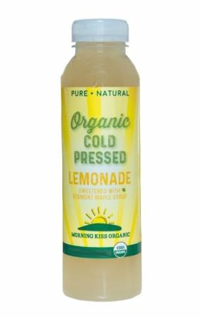 Morning Kiss Organic Cold Pressed Lemonade, 1 Liter