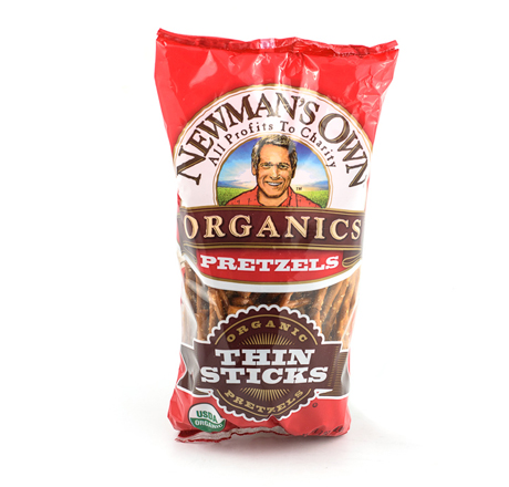 Newman's Own Organics Thin Pretzel Sticks