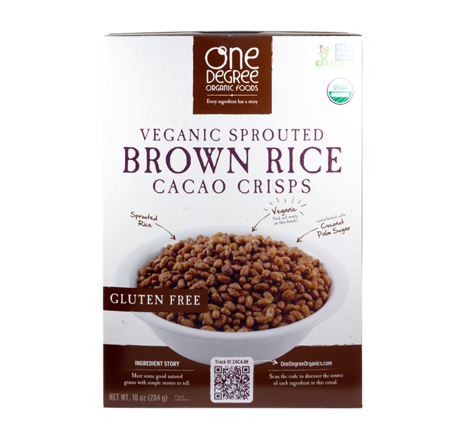Veganic Sprouted Cereal - Brown Rice Cacao Crisps