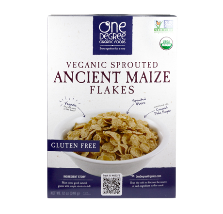 Veganic Sprouted Cereal - Ancient Maize Flakes