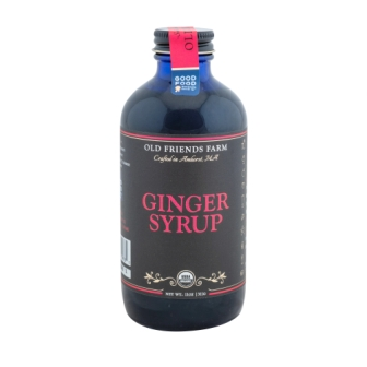 Old Friends Farm Organic Ginger Syrup