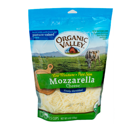 Organic Valley Shredded Mozzarella