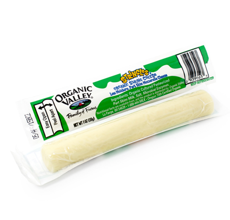 Organic Valley Mozzarella Stringles - 5-Pack