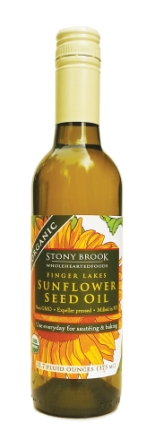 Stony Brook WholeHeartedFoods Organic Unrefined Sunflower Oil, 12oz