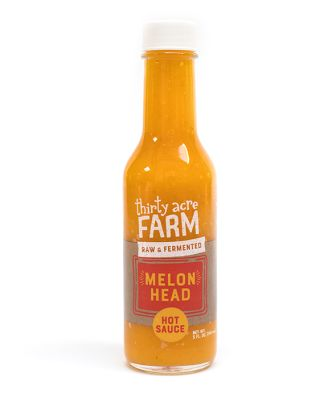Thirty Acre Farm Organic Fermented Hot Sauce, Melon Head