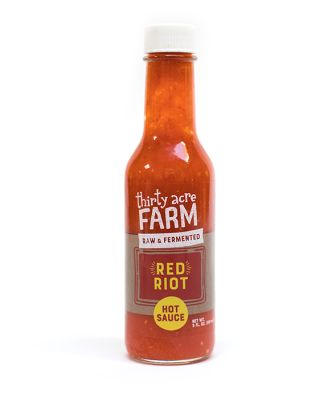 Thirty Acre Farm Organic Fermented Hot Sauce, Red Riot