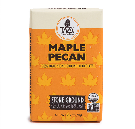 Taza Chocolate Organic Maple Pecan Chocolate Bar