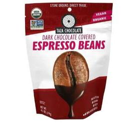 Taza Chocolate Organic Chocolate Covered Espresso Beans