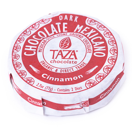Taza Chocolate Organic Mexicano Disc Cinnamon