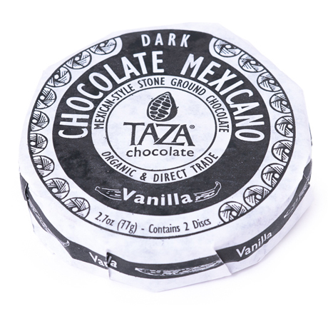 Taza Chocolate Organic Mexicano Disc Vanilla Bean