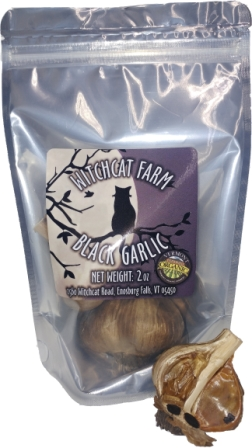 Witchcat Farm Organic Black Garlic