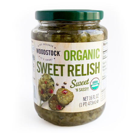 Woodstock Organic Sweet Relish