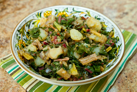 Chard & Potatoes