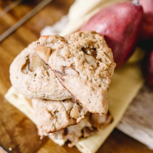 Cheddar Pear Scones | Boston Organics
