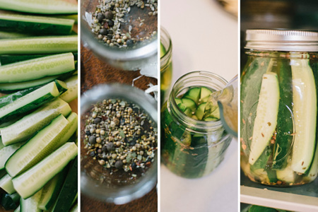 Small-Batch Refrigerator Pickles